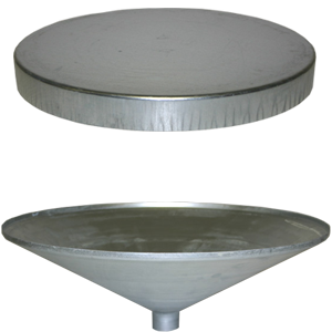 Feeder Funnels and Lids