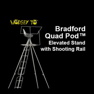 Bradford Quad Pod With Shootingrail Tripods Amp Quadpods