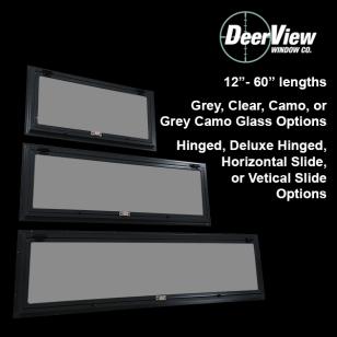Deerview Blind Windows For Deer Stands