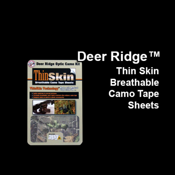 Deer Ridge Thin Skin Breathable Camo Tape Sheets