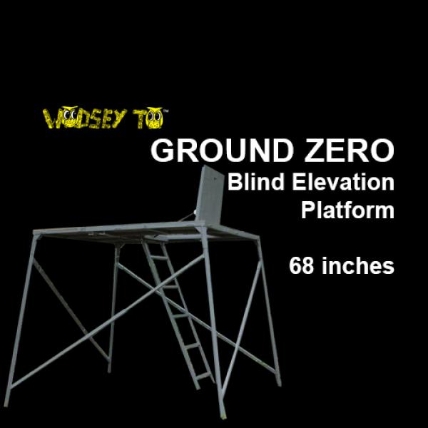 Ground Zero Blind Elevation Platform 68 Inch Elevated