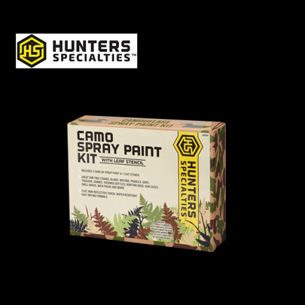 Hunters Specialties Spray Paint Camo Kit With Leaf
