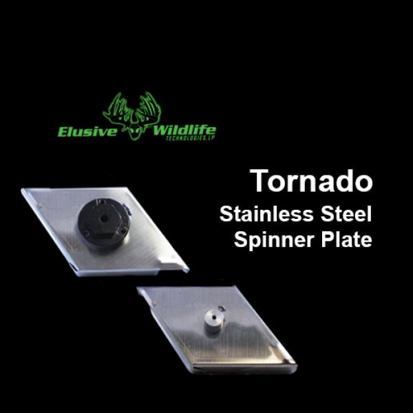 Tornado Stainless Steel Spinner Plate - Spinner Plates