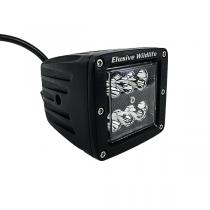 Kill Light®Predator Series Blackout LED Light Bar, 6 LED Cube, 18W Spot