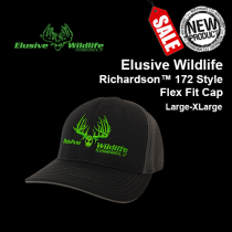 Elusive Wildlife Logo Cap, Richardson 172