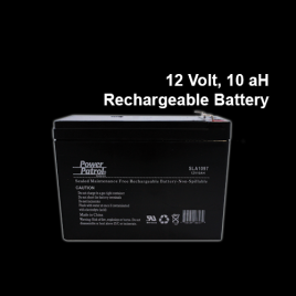 12 Volt, 10ah Rechargeable Battery