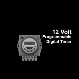 12 Volt Programmable Digital Timer