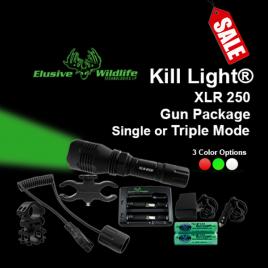 Kill Light® XLR 250 Gun Package