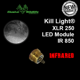 Kill Light® XLR 250 LED Module, SINGLE MODE - IR 850/Infrared