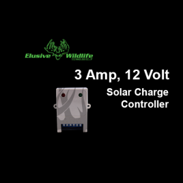 3 Amp, 12 Volt Solar Charge Controller