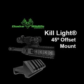 45 Degree Offset Rail Mount