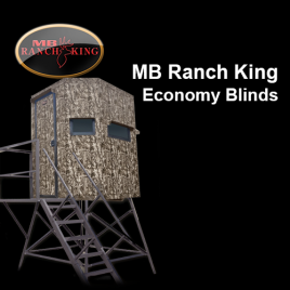 MB Ranch King Economy Blinds (Not Insulated)