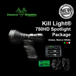 Kill Light® 750HD Spotlight Package
