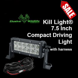 Kill Light Compact Driving Lights - 7.5 inch