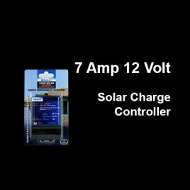 12 Volt 7 Amp Solar Charge Controller