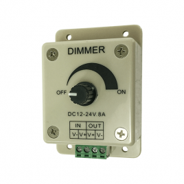 12 Volt 8 Amp Rheostat Light Bar Dimmer