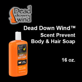 Dead Down Wind™- Body & Hair Soap, 16 oz.
