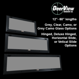 Deerview Blind Windows for Deer Stands