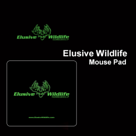 Elusive Wildlife Mouse Pad