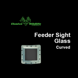 Feeder Sight Glass, Curved Radius