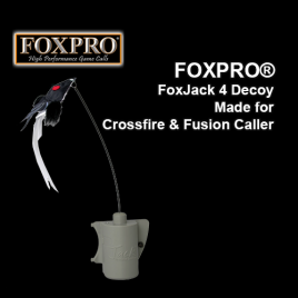 FOXPRO® FoxJack 4 Decoy, Made for Crossfire & Fusion Caller