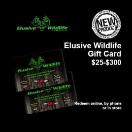 Elusive Wildlife Gift Card