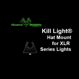 Kill Light® Hat Mount for XLR Series Lights