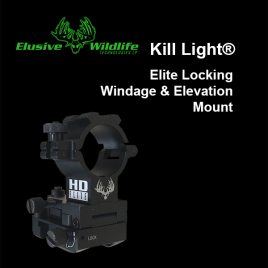 Kill Light® HD Elite Locking Windage & Elevation Mount