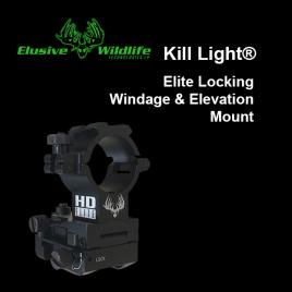 Kill Light® HD Elite Locking Windage & Elevation Mount