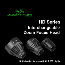 Kill Light® HD Series Interchangeable Heads (for HD Series Lights Only)