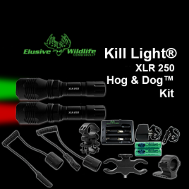 Kill Light XLR250 Hog and Dog™ by Elusive Wildlife Technologies