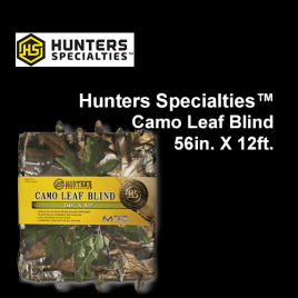 Hunters Specialties™ Camo Leaf Blind, 56in. X 12ft.