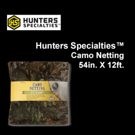 Hunters Specialties™ Camo Netting, 54in. x 12ft.