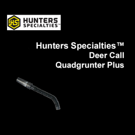 Hunters Specialties™ Deer Call Quadgrunter Plus
