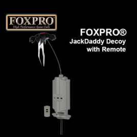 FOXPRO® JackDaddy Decoy with Remote