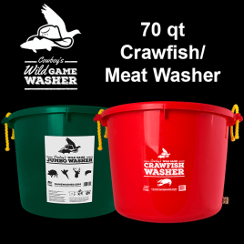 Game Washer™ - Crawfish and Jumbo Game Washer