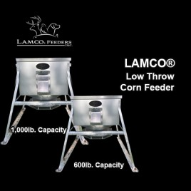 LAMCO® Low Throw Corn Feeder