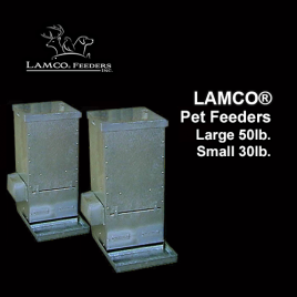 LAMCO® Pet Feeders
