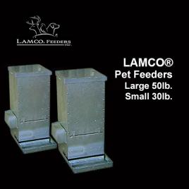 LAMCO® Pet Feeders