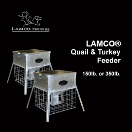 LAMCO® Quail & Turkey Feeder