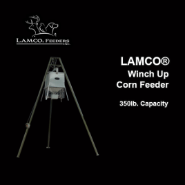 LAMCO® Winch Up Corn Feeder, 350lb. Capacity