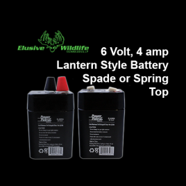 6 Volt 5aH Rechargeable Battery, Lantern Style