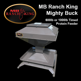 MB Ranch King Mighty Buck Timed Protein Feeder