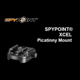 SPYPOINT® XCEL Picatinny Mount