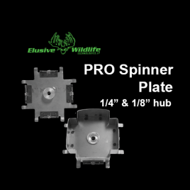 Pro Spinner Plate, Inertia Driven Gate - 1/4 or 1/8 hub