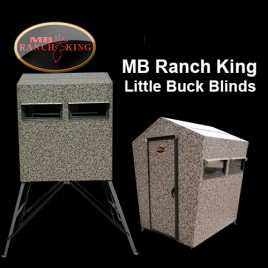 MB Ranch King Little Buck Blinds