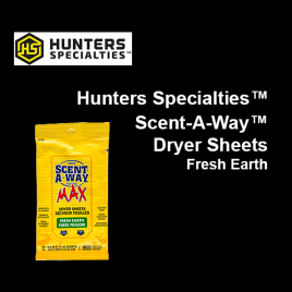 Scent-A-Way™ Dryer Sheets Fresh Earth 15 Pack