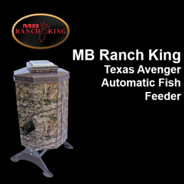 MB Ranch King Texas Avenger Automatic Fish Feeder