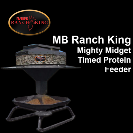 MB Ranch King Mighty Midget Timed Throw Protein Feeder