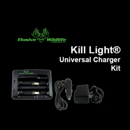 Kill Light® Universal Battery Charger Kit